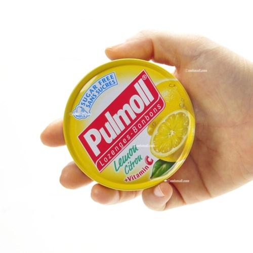[독일] 펄몰캔디(pulmoll) : 레몬맛(무설탕)