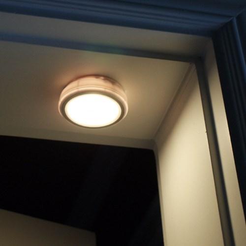 플램 센라이트 Sound 무선 소리감지 LED 센서등(FSL131)