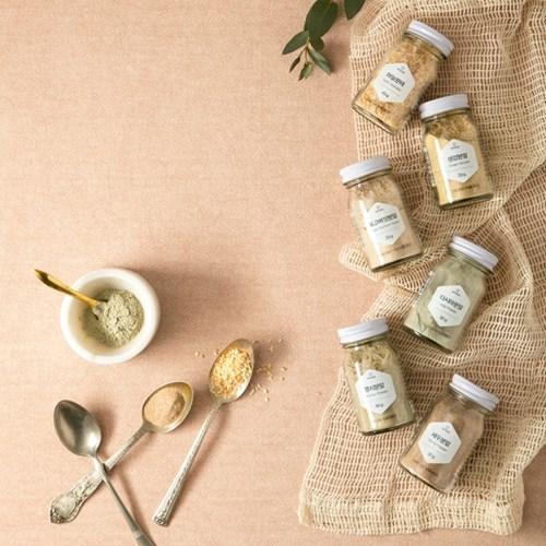 요리하는 즐거움 선물, 천연 조미료세트 (허브6종/조미료6종)