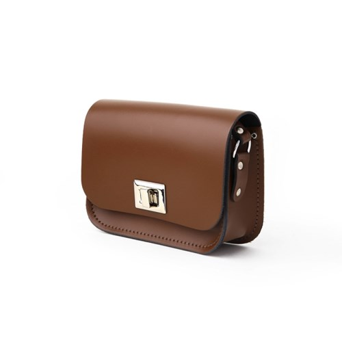 Chestnut Brown Small Pixie Bag