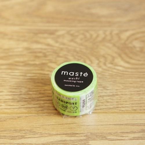 MASTE CITY Travel ticket-MST-MKT80-A