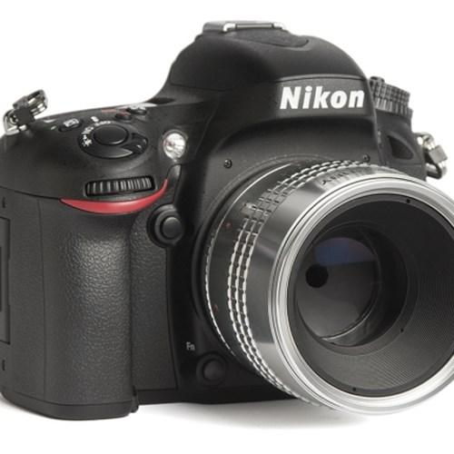 LENSBABY 렌즈베이비 아트렌즈 VELVET 56mm F1.6 SILVER For NIKON