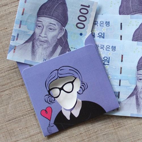 방긋 미니 돈봉투 - 퇴계이황 / 013-ME-0005