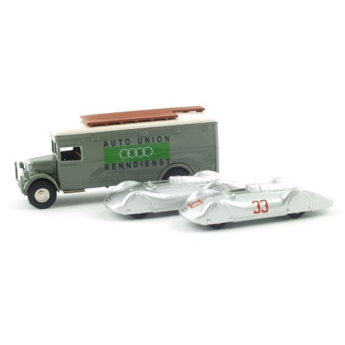 1/87 Auto Union Typ C + NAG Bussing Renntransporter(PC620101SET)