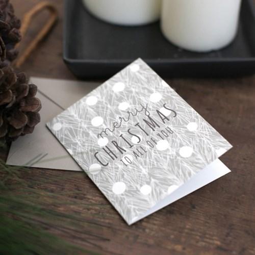 디비디 크리스마스 카드 세트 - Leaf