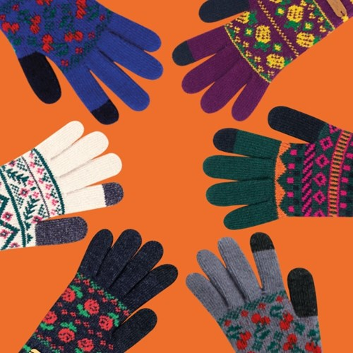 [위글위글 스마트폰 터치 장갑] Smart phone touch gloves