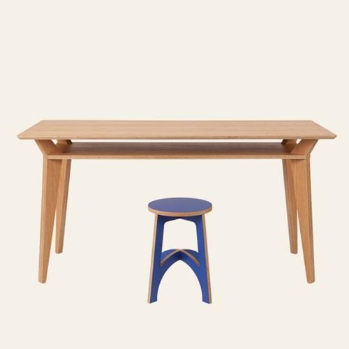 Double Table / Oak