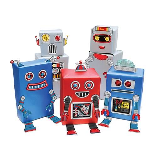 [원더스토어] 럭키스 로봇 선물 포장지