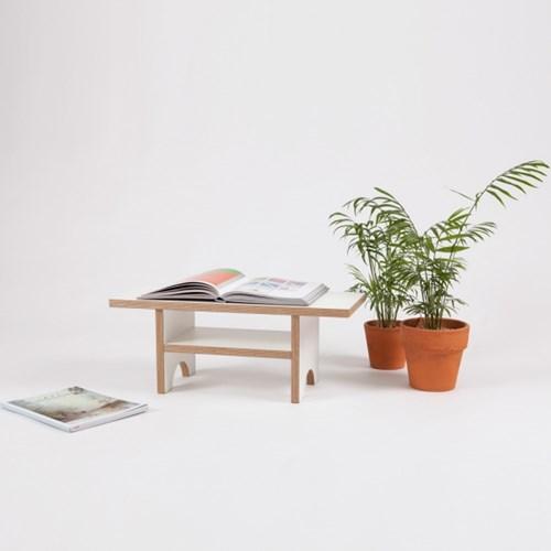 Mini Reading Table / White