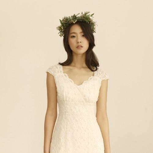 [CLAIR DE LUNE]  CIEL DRESS IVORY