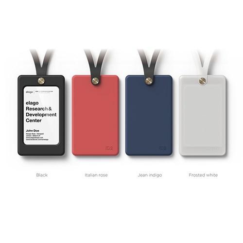 [엘라고] ID2 사원증 카드홀더 [5 color] / 실리콘