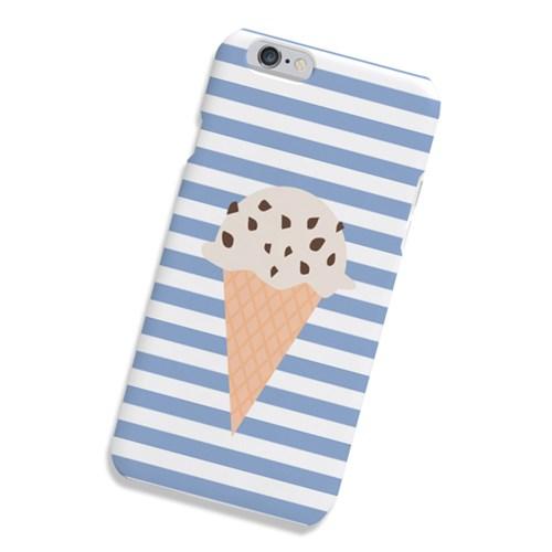 [원잇]HA0067-아이스크림 스트라이프 스카이 하드케이스_(11909428)