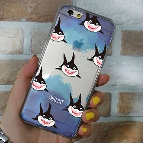 [투명하드젤리]미소 상어 패턴 시리즈
