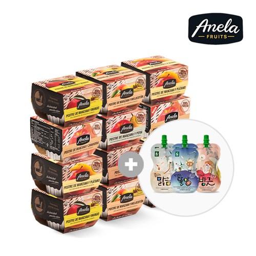 아넬라 과일퓨레 디저트 10팩
