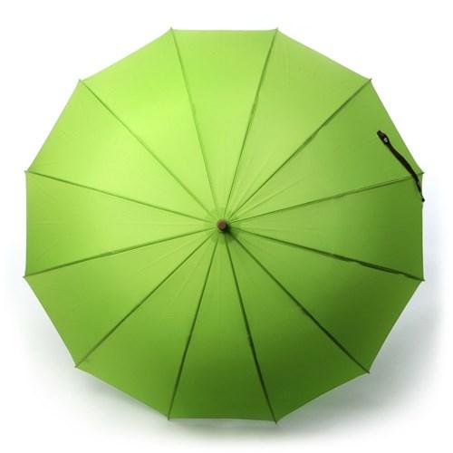 [HAS] 자동 솔리드 장우산 12살대 H1260(GREEN)_모히또_(801660117)
