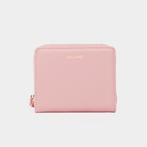 [미니태슬증정]Dijon 301 Layer ZIpper Wallet light pink
