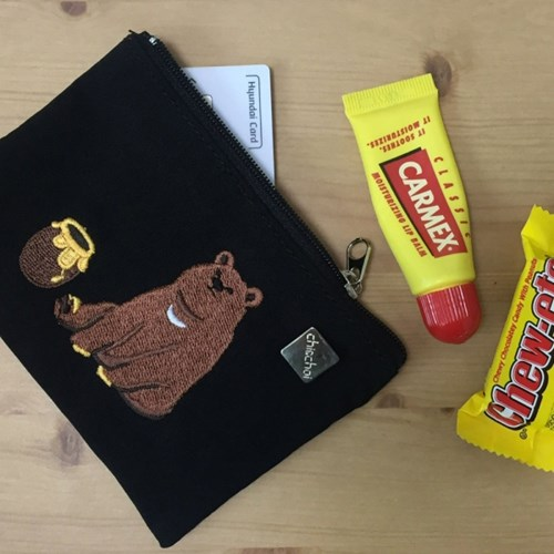 honey bear card pouch
