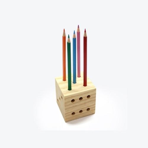 Dice Pencil Holder