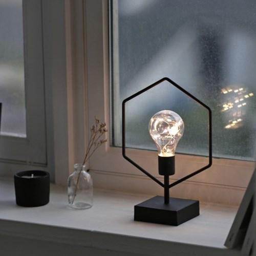 육각 LED조명(탁상형)
