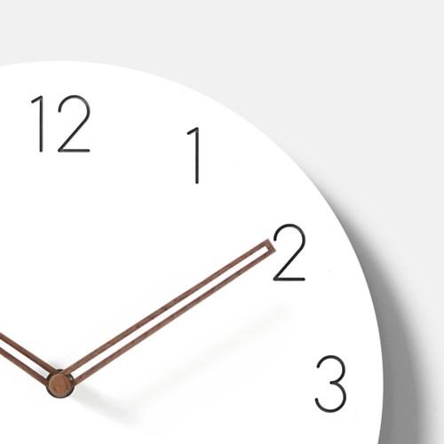 심플 무소음 벽시계(숫자A)