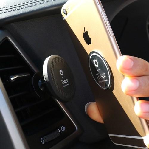 아이페이스 차량용 스마트폰 거치대-블랙 [611-220354-US]