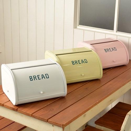유럽풍 파스텔 브레드 박스 에나멜 광택 코팅