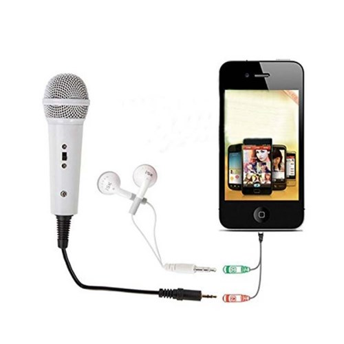 [AFI]프리미엄 휴대용 빅 마이크(스마트폰용)