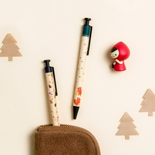 WOODY BALL PEN [TOFFEENUT]