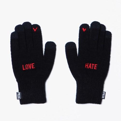 [12/18 예약]LOVE HATE SMART GLOVE (BLACK)