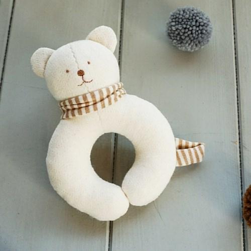 유기농 아기곰 딸랑이 만들기 태교바느질DIY