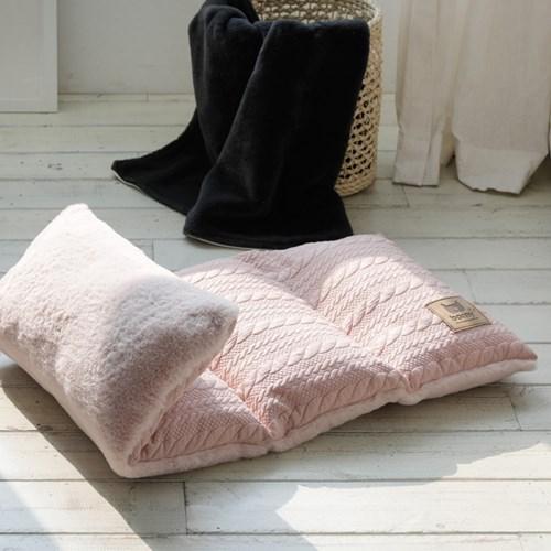 [BORNY PET] 보니펫 4단 멀티방석 코지스웨터(핑크)