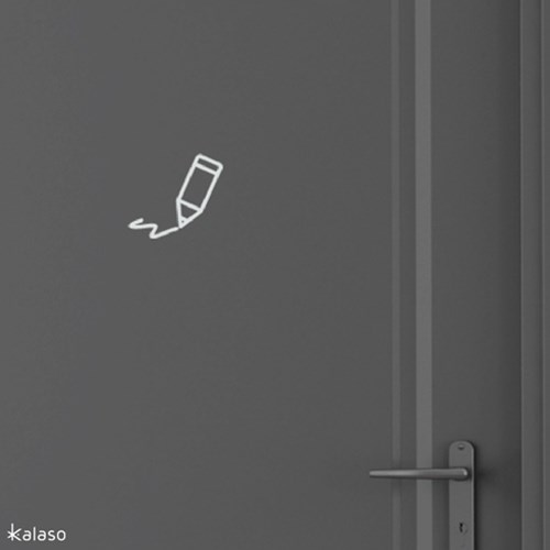 [칼라소] 도어사인 (15종류 중 낱개선택)_ 픽토그램 도어사인 스티커