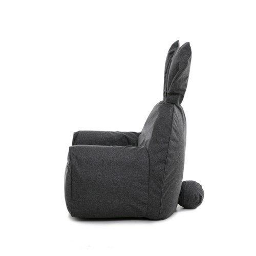 rabito chair small set (charcoalgray cover+sky white inner)