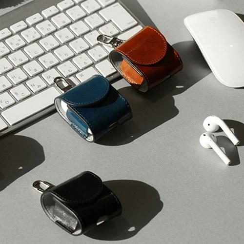 한스마레 애플 에어팟 케이스 - 네이비
