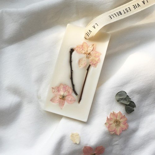 Cherry Blossom Wax Tablet (선물포장)