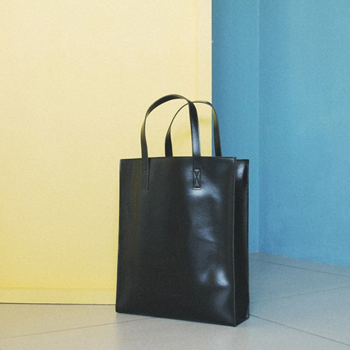 LEATHER SQUARE SHOULDER&TOTE (4color)_(400623091)