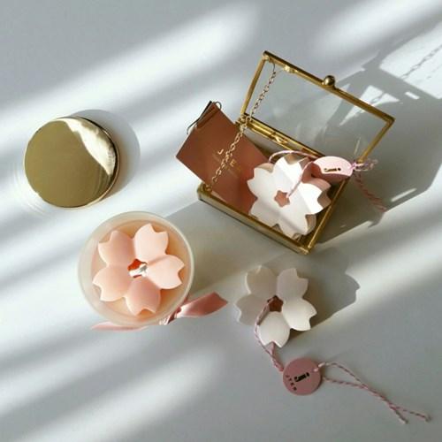벚꽃(cherry blossoms)Soy캔들