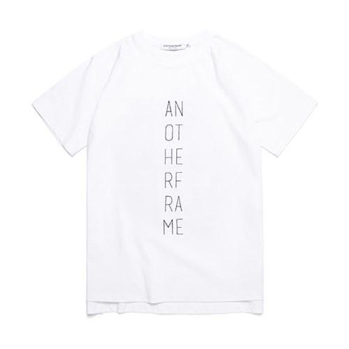 [어나더프레임] AF LO-LOGO T-SHIRT (WHITE)_(632746)