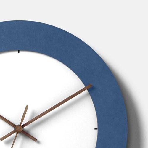 블루 도넛 벽시계