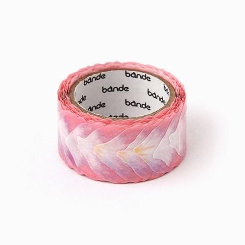 반데 꽃잎 미니 핑크 마스킹테이프 BDA179