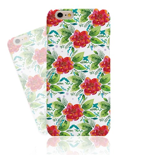Adorable Red Flower Ver02 (HF-132A) Hard Case