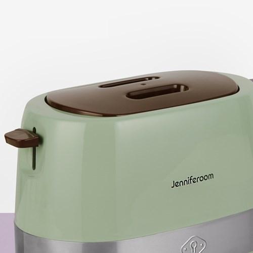 제니퍼룸 투슬라이스 토스터기 JR-T800OV 올리브
