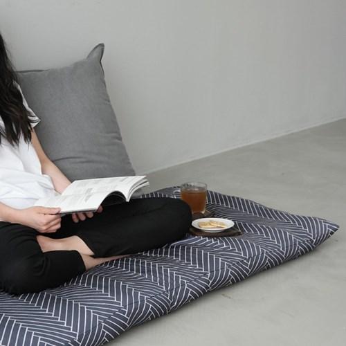 풍기인견 모던콜렉션 여름 쿨방석 대방석 150x70 (솜포함)