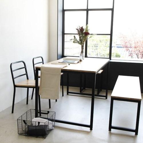 팰리 1라인 R01 철재 식탁 4인용 테이블