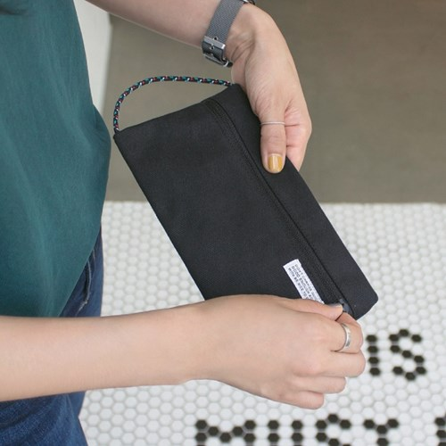 STRING POCKET POUCH (WIDE)