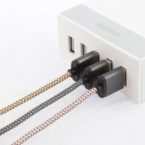 올웨이즈 LED 수퍼 마그네틱 페브릭 5핀 케이블