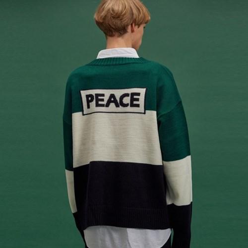PEACE BLOCK KNIT RD