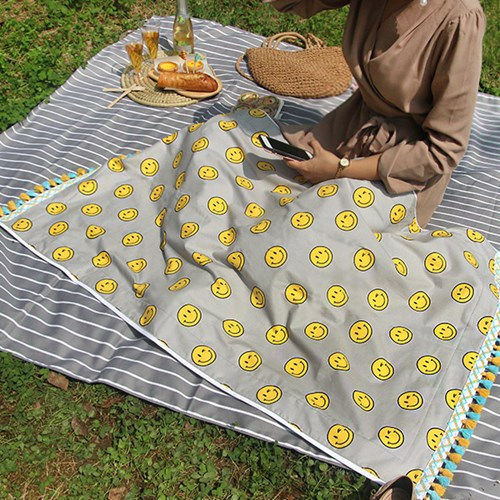 Bright Smile- Beach Towel
