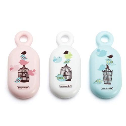 [스와비넥스]베이비 목욕용품3종세트 (아기빗+탕온도계+해면스폰지)