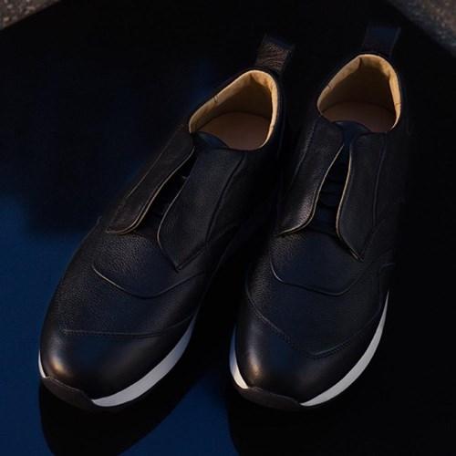 [gram 그램슈즈] 442g 블랙 탑 그레인 레더
